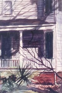 Savannah Porch - Raymond L. Reid