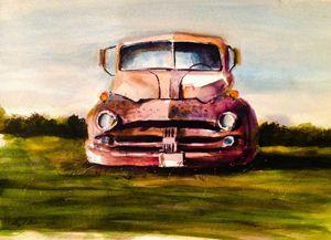 Vintage Junkyard Dodge