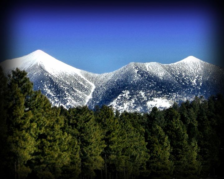 Snowy Peaks - John Wortman