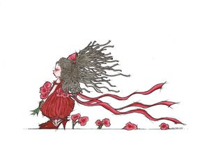 Red Flower Girl