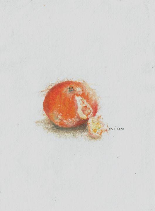 Peeling Orange (2) - Suzy Sara