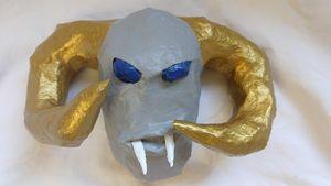 Golden Ram Horn