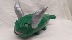 Smiley Silver Horn