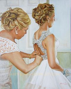 Made to Order wedding Portrait