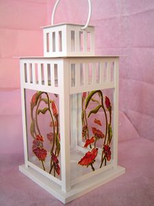 Girl Candle Holder lantern