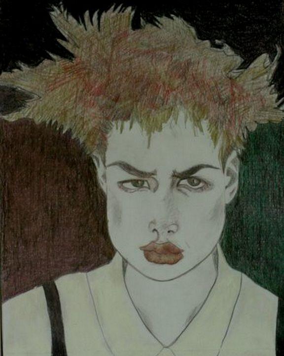 Portrait of Anger - Ethereal Organics...diane montana jansson