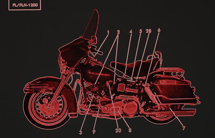 Harley Davidson II - Ethereal Organics...diane montana jansson