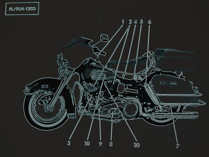 Harley Davidson IV - Ethereal Organics...diane montana jansson