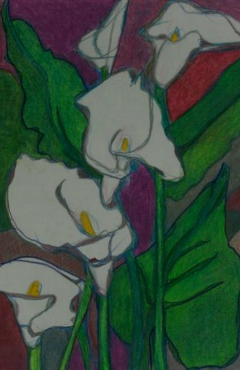 calla lily - Ethereal Organics...diane montana jansson