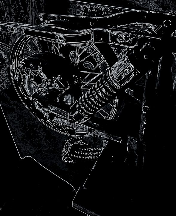 Harley Davidson XIII - Ethereal Organics...diane montana jansson