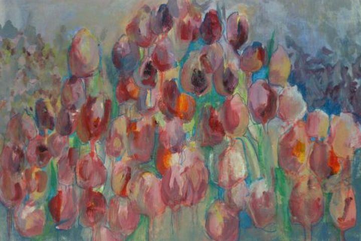 Pink Tulip Field - Ethereal Organics...diane montana jansson