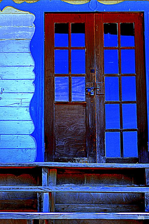 Blue Glass - Ethereal Organics...diane montana jansson