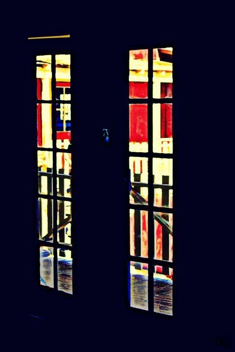 Abstract Door - Ethereal Organics...diane montana jansson