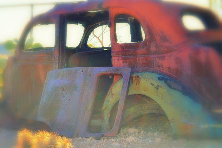 Crayola Car - Ethereal Organics...diane montana jansson
