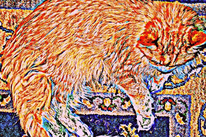 Tiger Tiger Burning Bright - Ethereal Organics...diane montana jansson