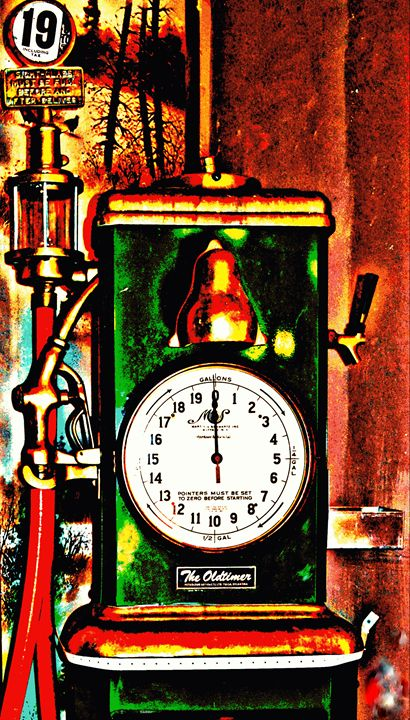 Fill Er Up and Please Check The Oil - Ethereal Organics...diane montana jansson