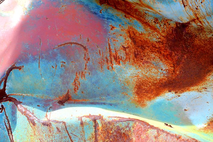 Rusty Pastels - Ethereal Organics...diane montana jansson