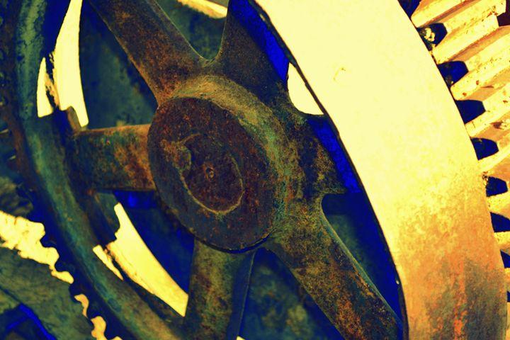 Golden wheel - Ethereal Organics...diane montana jansson