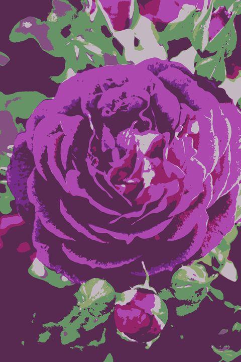 Purple Roses - Ethereal Organics...diane montana jansson