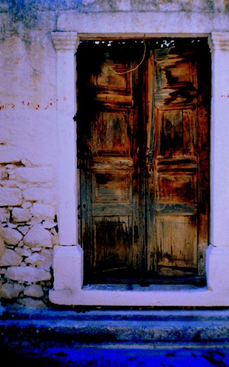Blue Doorway - Ethereal Organics...diane montana jansson