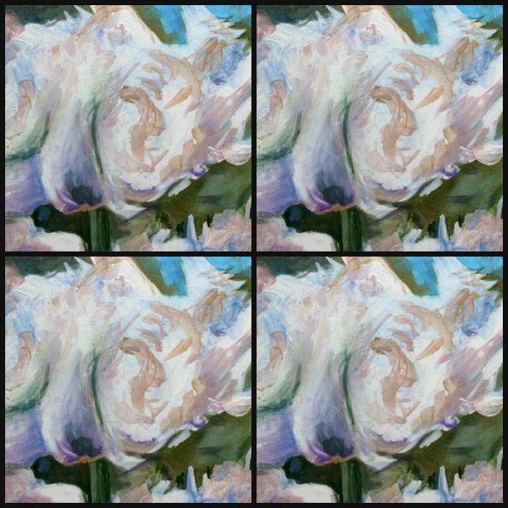 white parrot tulip quad - Ethereal Organics...diane montana jansson
