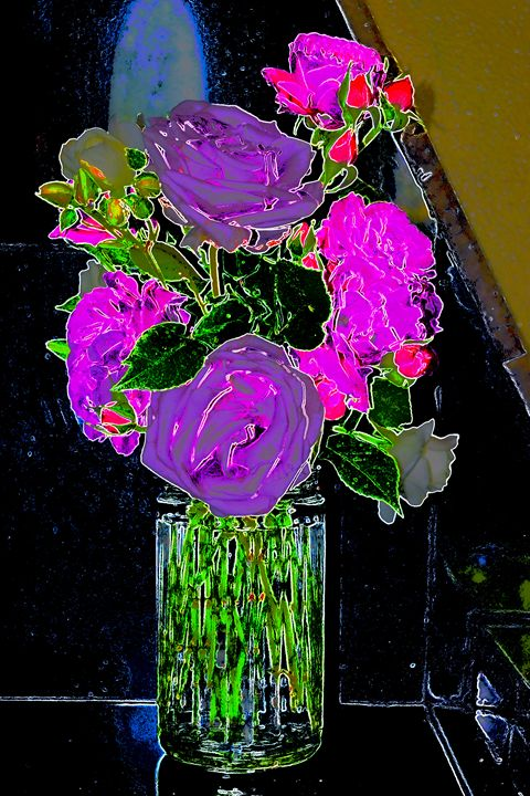 Easter roses 1 - Ethereal Organics...diane montana jansson