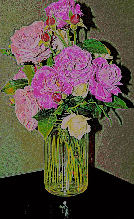 Easter roses 2 - Ethereal Organics...diane montana jansson