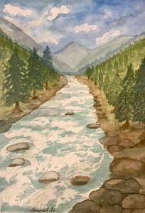 River Lidder, Kashmir
