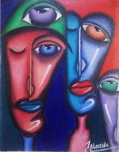 Modern pop art painting - J. Art Digital prints of painting