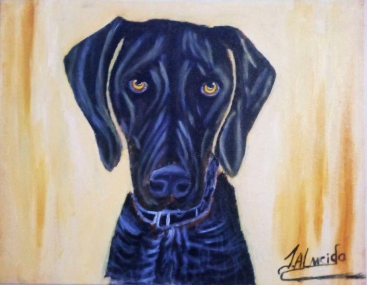 Dog Painting - J. Art Digital prints of painting