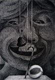 original drawingpen, paper