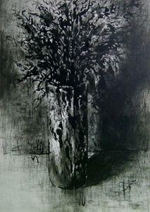 a vase stil life
