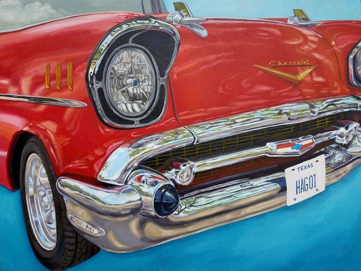 Hago's 57 Chevy Bel Air - Beverly Garland