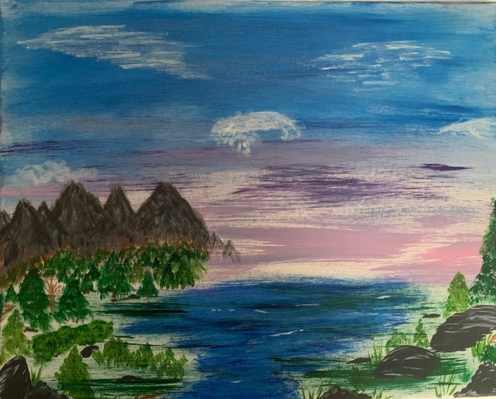 Scenic Mountain  View - Holly Smith