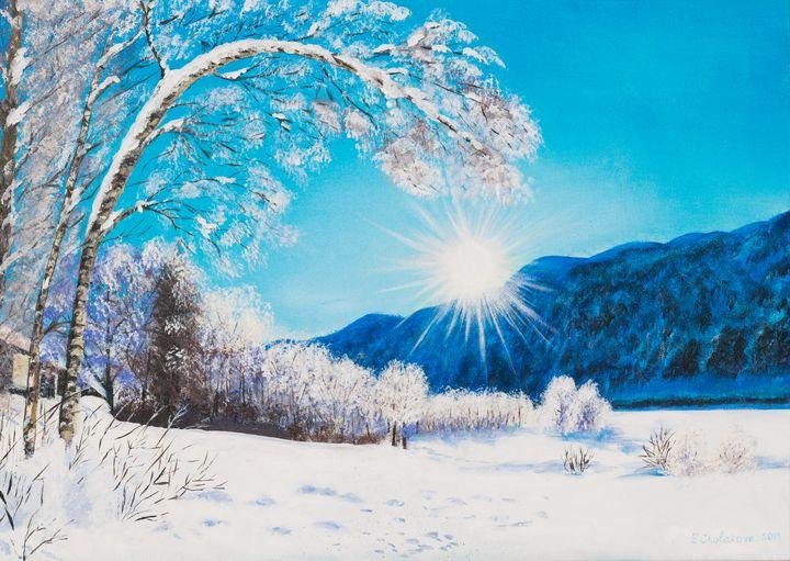 Winter valley - Elitsa Cholakova