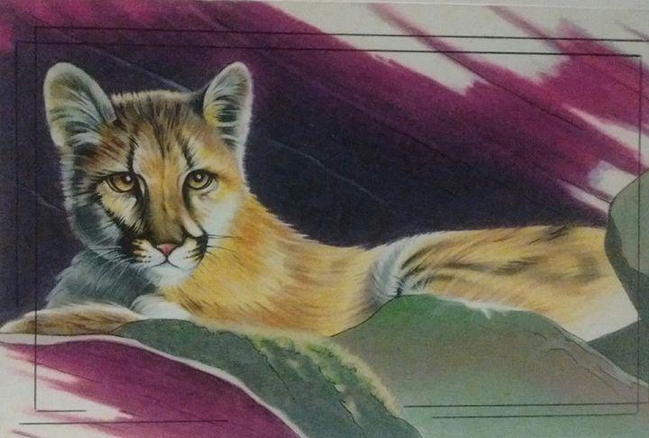 Cougar cub - gerald johnston