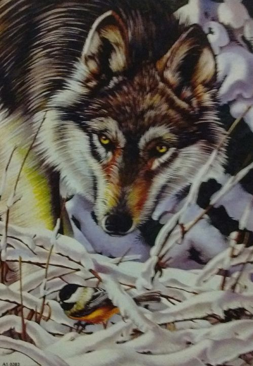 hidden in the underbrush - gerald johnston