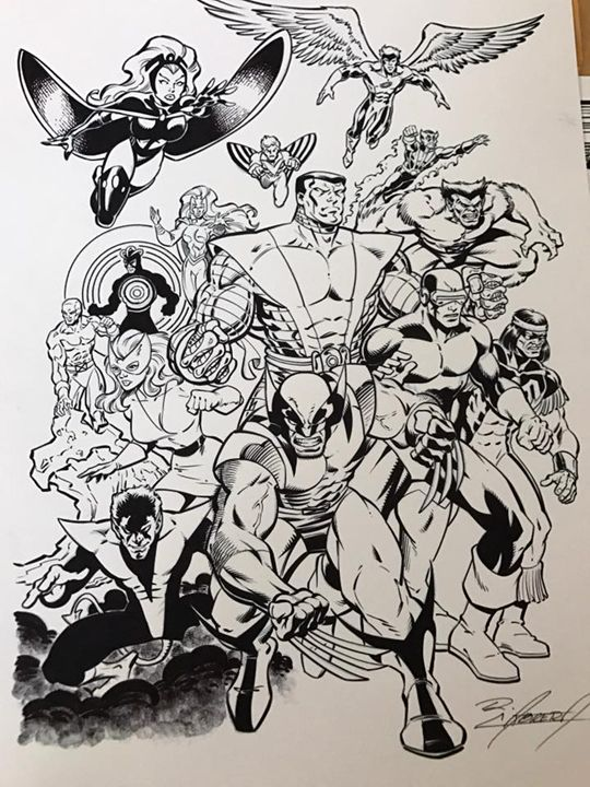 X-Men Ready for Battle - Ralph Cabrera