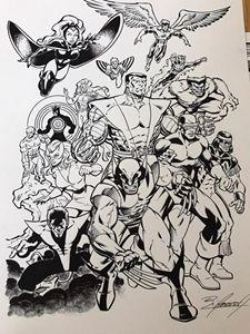 X-Men Ready for Battle