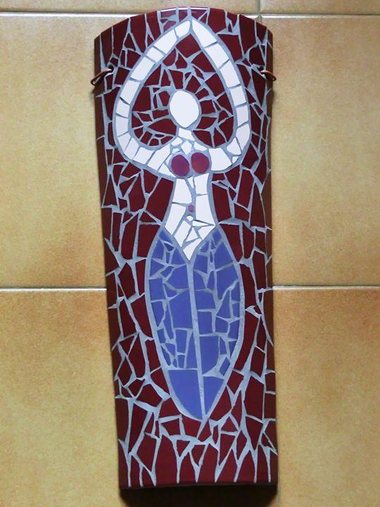 Pagan Woman - mosaicart