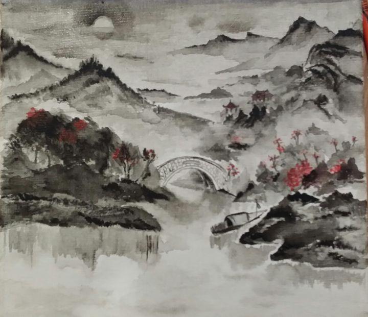 Night in the silence - Elisa WANG