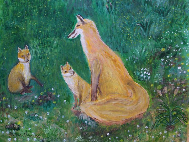 Story Time with Momma Fox - Yuliya Milinska