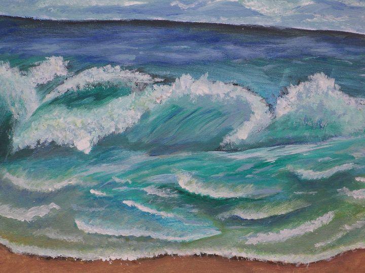 Ocean Waves - Yuliya Milinska
