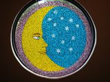 Mosaic Crescent Moon