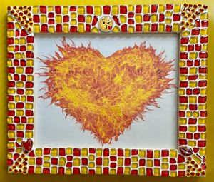 Mosaic Picture Frame - The Mosaic Maniac