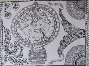 Nataraja in Mandala