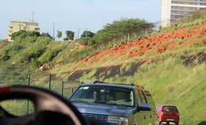 Angolan Steering Wheel View