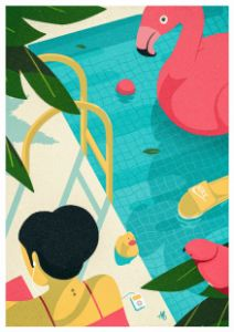 By the pool (summer 2021) - Marco Baccioli
