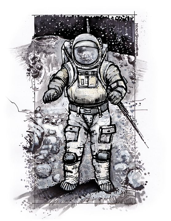 Astronaut Baxter 2 - The Sci-Fi World of Bob Bello