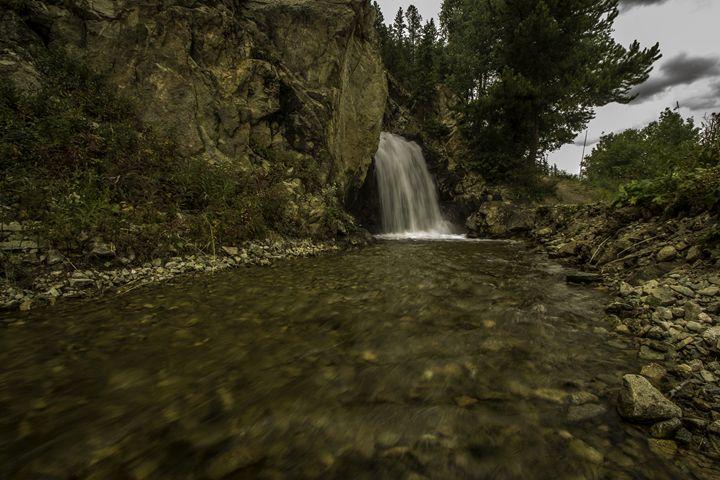 Colorado trail waterfall - Scott McKay Photography